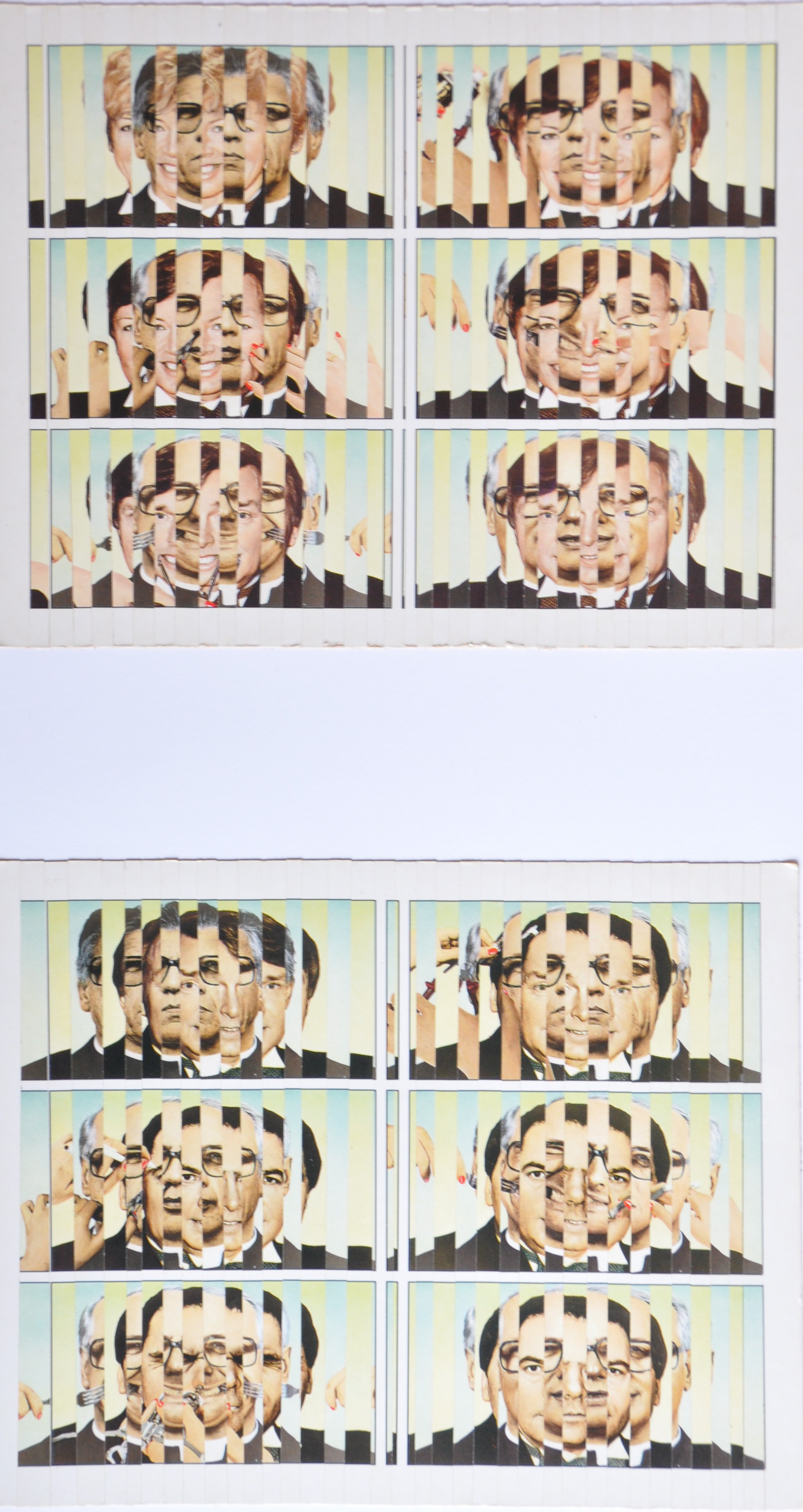 Lächeln für Anfänger, Ansichtskarten, 29,5 x 49