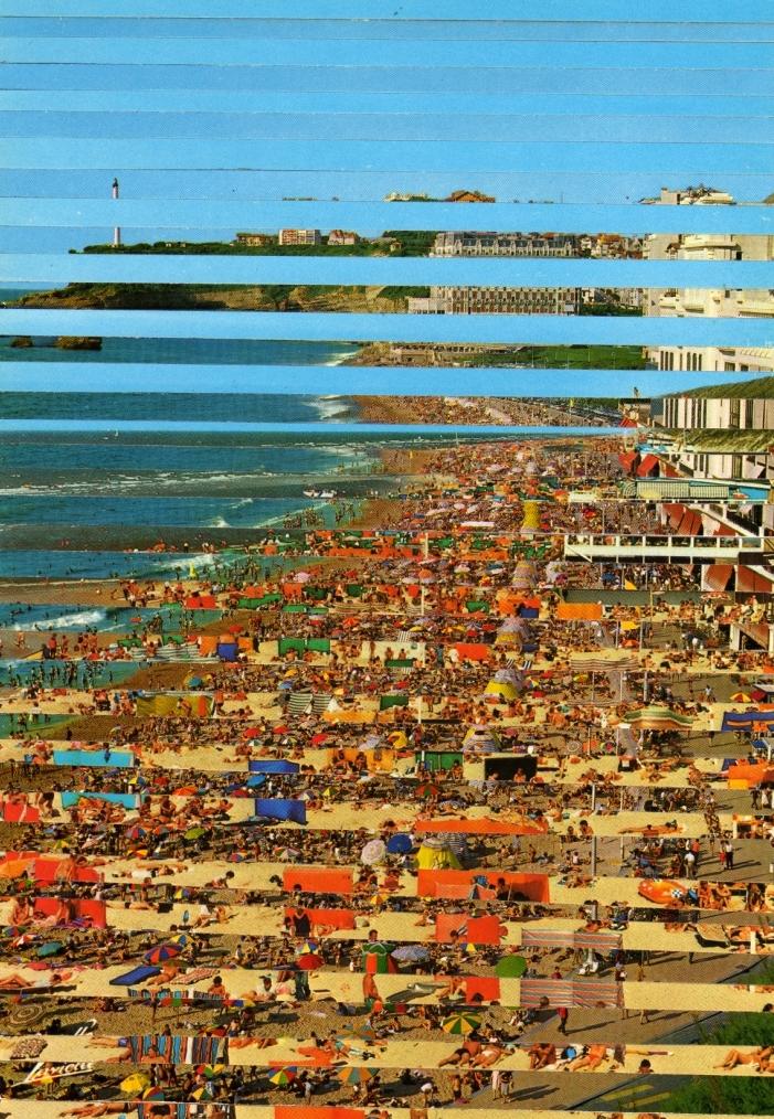 Biaritz aan Zee, Ansichtskarten auf Papier, 21 x 15,3