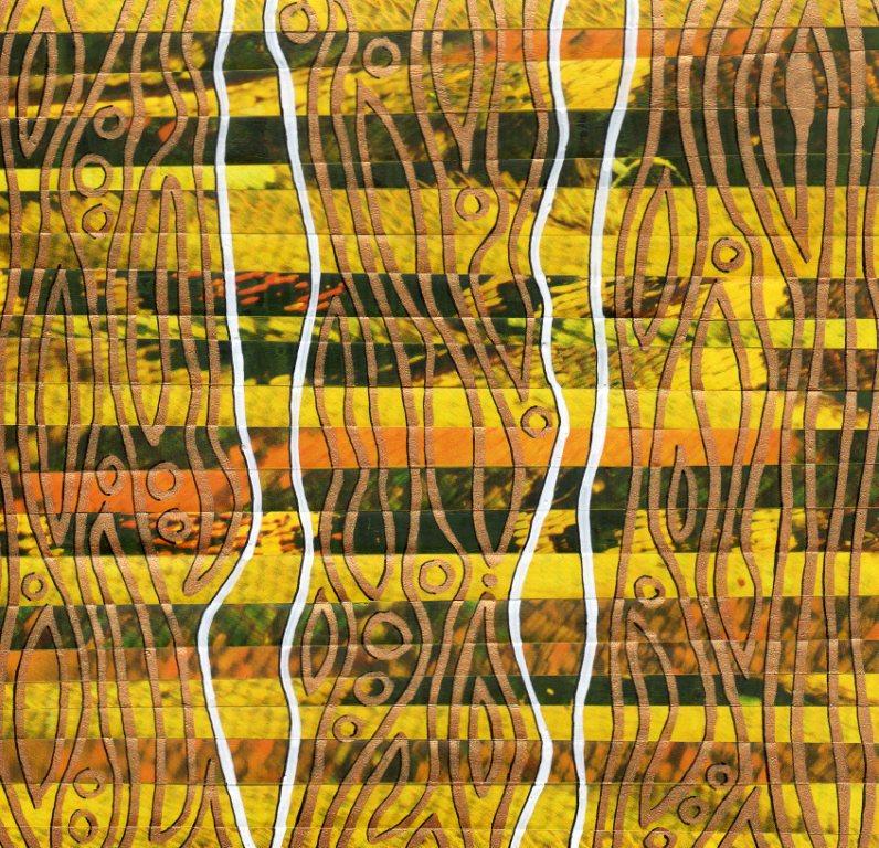 Special effect 3, Acryl auf Kalenderblatt, 14,5 x 14,5